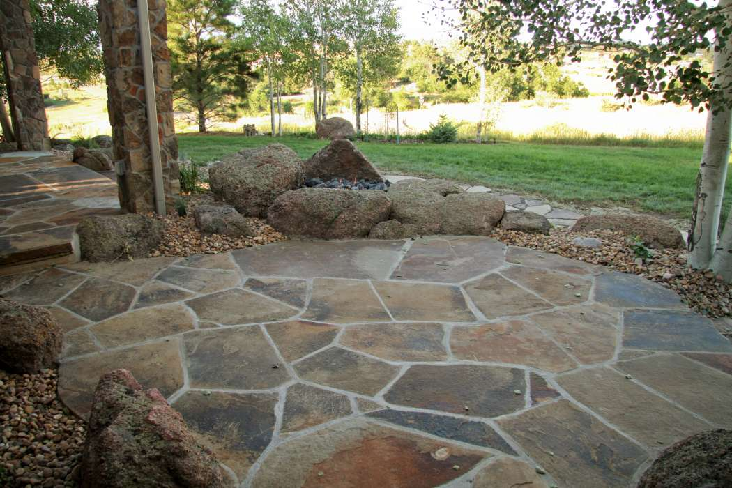garden and picture design pictures of landscaping 2 acres ForFlagstone Designs