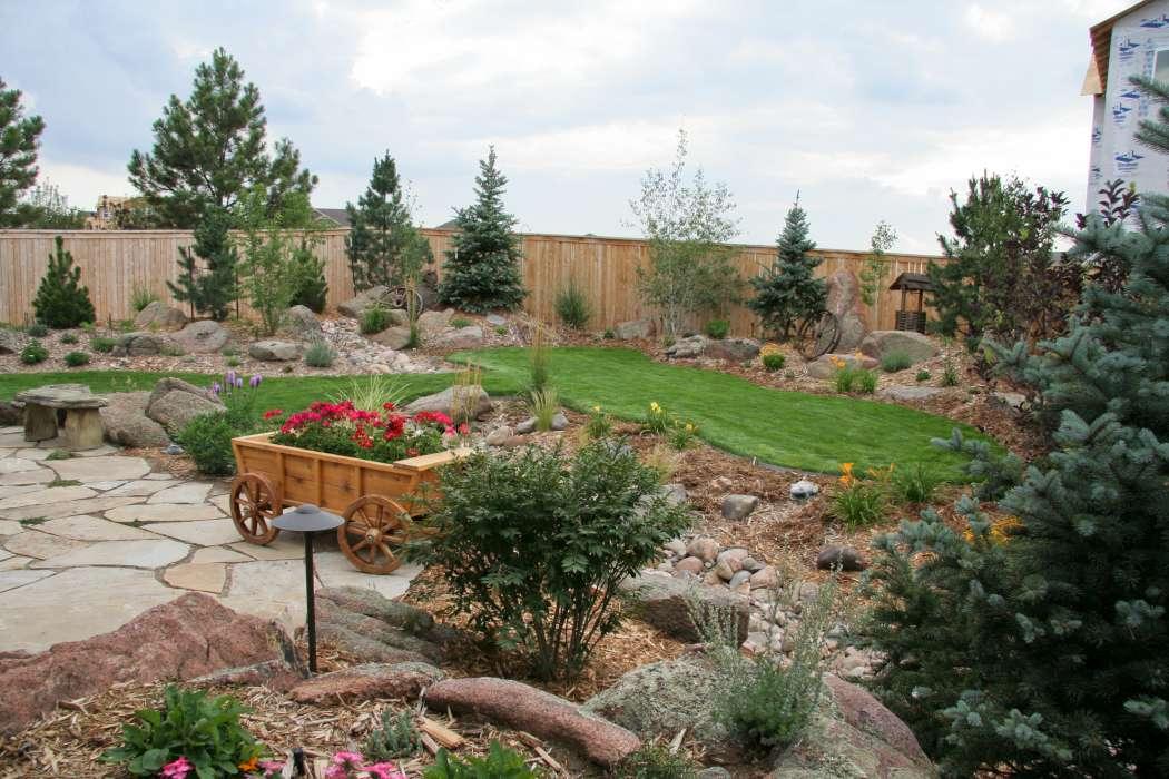 Luxescapes landscape design and installation contractor for Mountain landscape design